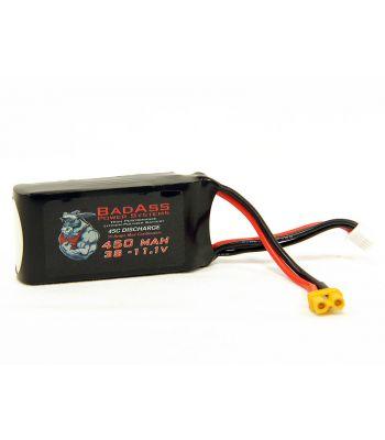 BadAss 45C  450mah 3S LiPo Battery