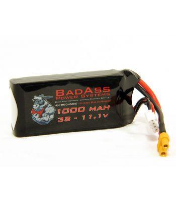 BadAss 45C 1000mah 3S LiPo Battery