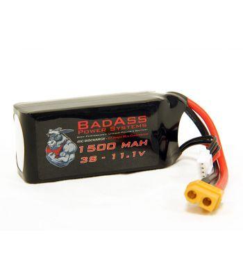 BadAss 45C 1500mah 3S LiPo Battery