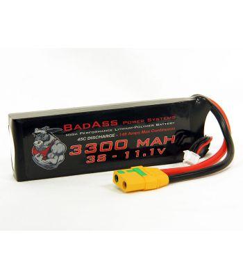 BadAss 45C 3300mah 3S LiPo Battery