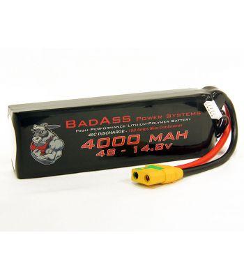BadAss 45C 4000mah 4S LiPo Battery