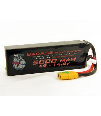 BadAss 45C 5000mah 4S LiPo Battery