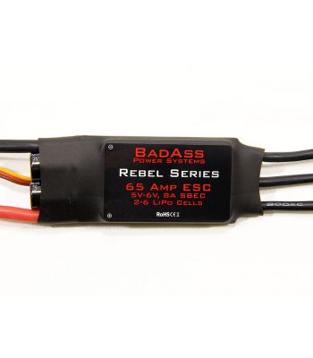 BadAss Rebel Series Brushless ESC, 65A