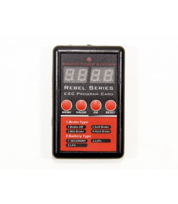 BadAss Rebel Series Brushless ESC LED Programmer
